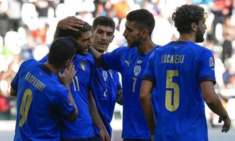 Nations League: Στην τρίτη θέση η Ιταλία – «Έσπασε» τα δοκάρια το Βέλγιο (video)