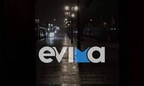 Κακοκαιρία «Αθηνά»: Ισχυρή καταιγίδα στη Χαλκίδα – Νύχτα αγωνίας στην «πληγωμένη» Εύβοια