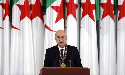 Ο πρόεδρος της Αλγερίας, Αμπντελματζίντ Τεμπούν