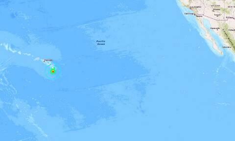 Σεισμός στη Χαβάη