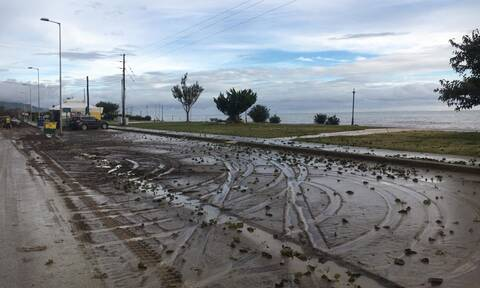 Κακοκαιρία «Αθηνά»: Απόκοσμες εικόνες σε Εύβοια, Λάρισα και Πήλιο - Τι άφησαν πίσω τους οι πλημμύρες