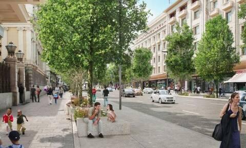 Δήμος Αθηναίων: Έτσι θα είναι μετά την ανάπλαση η Πανεπιστημίου (pics)