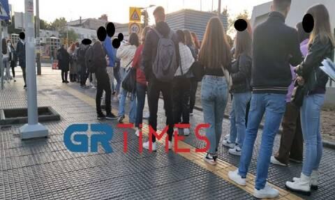 Χάος στο πανεπιστήμιο Μακεδονία: Φοιτητές έφαγαν «πόρτα» λόγω μέτρων και έλλειψης χώρων