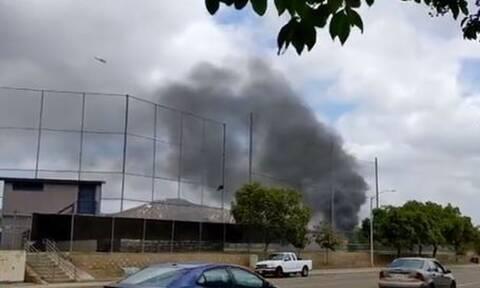 ΗΠΑ - Συναγερμός στην Καλιφόρνια: Συντριβή αεροσκάφους με τουλάχιστον δυο τραυματίες