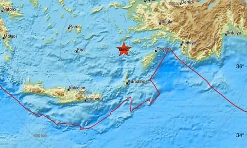 Σεισμός ΤΩΡΑ κοντά σε Τήλο και Νίσυρο (pics)