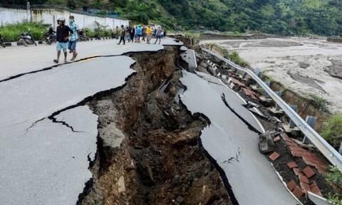 Κίνα: Δεκαπέντε νεκροί και 3 αγνοούμενοι από τις πλημμύρες