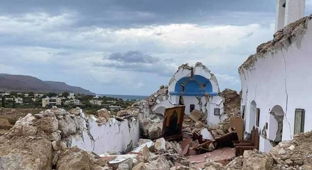 ekklhsia seismos