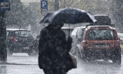 Έκτακτο δελτίο ΕΜΥ: Καταιγίδες, χαλάζι και πτώση θερμοκρασίας - Σε ισχύ το σχέδιο «Δάρδανος»