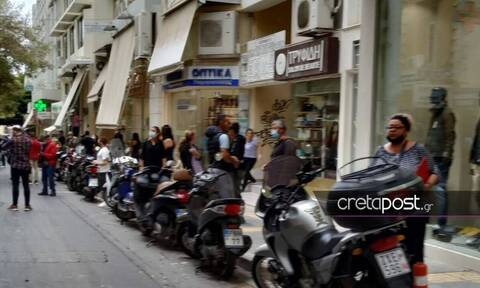 Strong quake jolts Crete