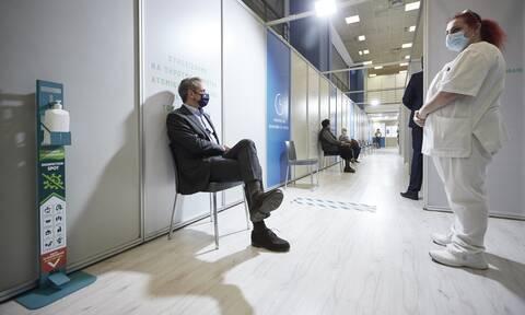 Κυριάκος Μητσοτάκης: Έκανε την 3η δόση του εμβολίου κατά του κορονοϊού ο πρωθυπουργός
