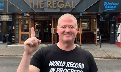 Βρετανός είχε ελεύθερο χρόνο και έσπασε το ρεκόρ Γκίνες - σε τι όμως;