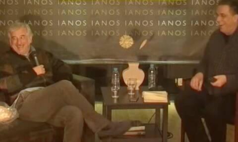 Το ανατριχιαστικό «αστειάκι» του Πέτρου Φιλιππίδη το 2016 για τις «κοπελίτσες στο καμαρίνι»