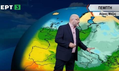 Προειδοποίηση Αρναούτογλου: «Αγριεύει» ο καιρός με σφυροκόπημα 48 ωρών - Oι περιοχές που θα πληγούν