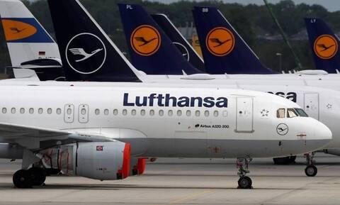 Lufthansa σε επιβάτες: Ελάτε στο αεροδρόμιο 4 ώρες πριν την πτήση