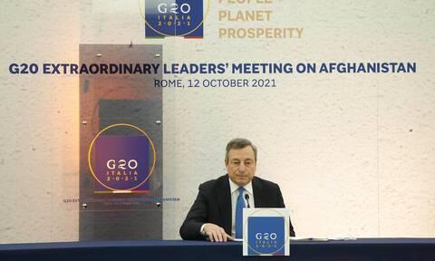 G20: Πρέπει να αντιμετωπιστεί η ανθρωπιστική κρίση στο Αφγανιστάν