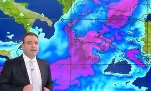 Καιρός - Μαρουσάκης: «Θα πέσει πολύ νερό σε μικρό χρονικό διάστημα» - Ποιες περιοχές θα επηρεαστούν