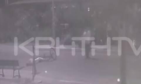 Κρήτη: Βίντεο ντοκουμέντο από την παράσυρση και εγκατάλειψη ποδηλάτισσας