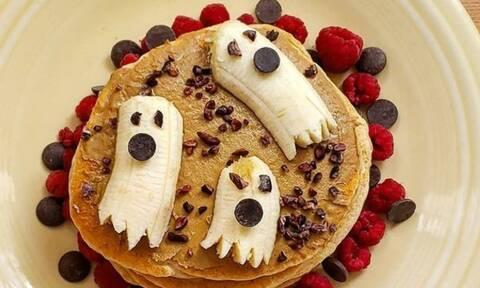 Έτσι θα φτιάξετε και εσείς Halloween pancakes