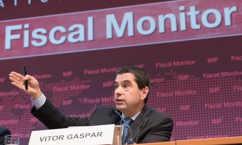 Ο Διευθυντής του Τμήματος Δημοσιονομικής Πολιτικής του ΔΝΤ Βίτορ Γκασπάρ
