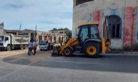 Κατεχόμενα - Πρόκληση Τατάρ: Νέες εργασίες στην περίκλειστη περιοχή Βαρωσίου (vid)