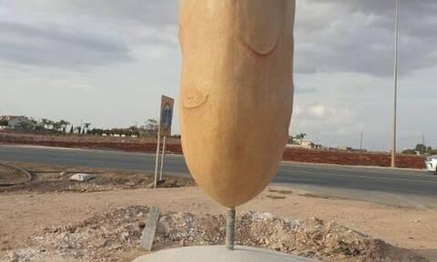 Η πατάτα της Κύπρου έγινε...άγαλμα