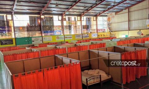 Σεισμός στο Αρκαλοχώρι: Κρούσματα γαστρεντερίτιδας στους άστεγους σεισμοπαθείς