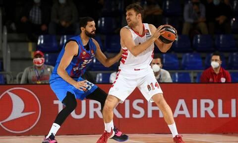 Euroleague: Έχασε το αήττητο ο Ολυμπιακός, χτύπησε ο Μάικ Τζέιμς – Highlights και βαθμολογία