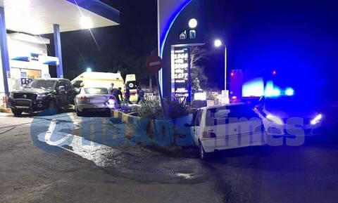 Νάξος: Σοβαρό τροχαίο με τρία οχήματα– Ακρωτηριάστηκε οδηγός