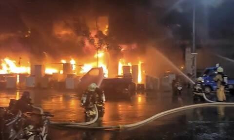 Πυρκαγιά στην Ταϊβάν