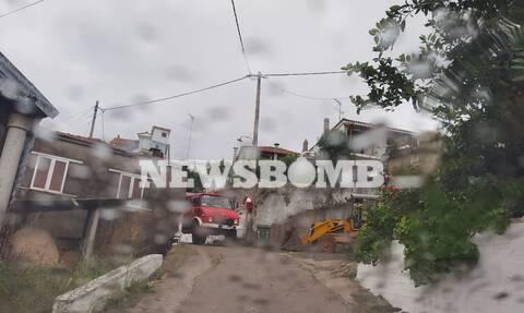 Κακοκαιρία «Μπάλλος»: Ξεκίνησε η βροχή στην Εύβοια - Συναγερμός στην Πυροσβεστική
