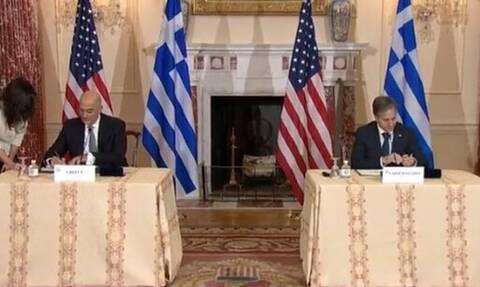 διπλωματικές πηγές ΗΠΑ Ελλάδα αμυντική συνεργασία