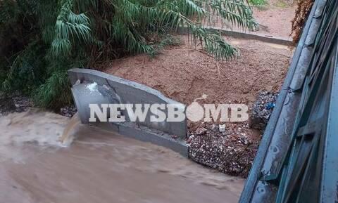 Κακοκαιρία «Μπάλλος»: Χείμαρροι στο Χαλάνδρι, πλημμύρισαν καταστήματα στο Περιστέρι (pics+vid)