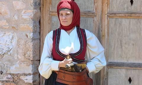 1821 - Οι Ήρωες: Την Παρασκευή το τρίτο επεισόδιο για τη Λασκαρίνα Μπουμπουλίνα