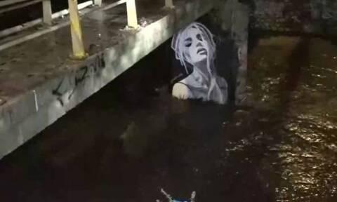 Κακοκαιρία «Μπάλλος»: Στο όριο της υπερχείλισης και ο ποταμός Ιλισσός
