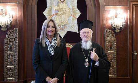Τηλεφωνική επικοινωνία του Οικουμενικού Πατριάρχη με τη Φώφη Γεννηματά