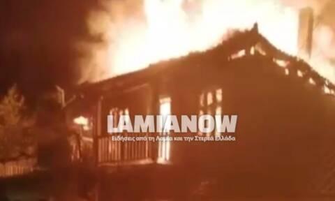 Φωκίδα: Παρανάλωμα του πυρός έγινε σπίτι στο Μαυρολιθάρι