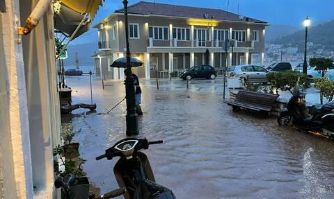 Κακοκαιρία: Σε κατάσταση έκτακτης ανάγκης η Ιθάκη-Έπεσε τόσο νερό όσο σχεδόν σε 1 χρόνο στην Αττική