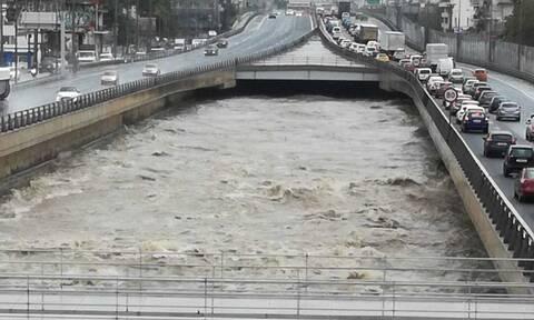Λέκκας για κακοκαιρία «Μπάλλος»: Στον Κηφισό έπεσαν την Πέμπτη 30 εκατ. τόνοι νερού!