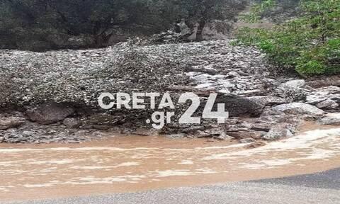 Κακοκαιρία «Μπάλλος»: Μεγάλες καταστροφές για τους κτηνοτρόφους στην Κρήτη - Αγνοούνται 100 ζώα