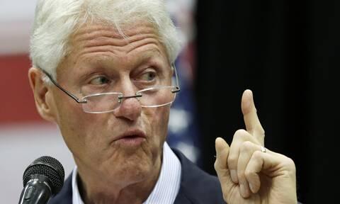 Μπιλ Κλίντον: Θρίλερ με τον πρώην προέδρο των ΗΠΑ - Τα σενάρια για την υγεία του