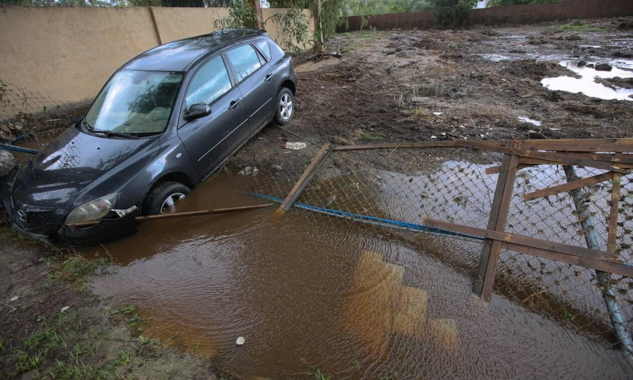 Κακοκαιρία «Μπάλλος»: «Η βροχόπτωση την Πέμπτη αντιστοιχεί στο 1/3 της ετήσιας βροχόπτωσης»