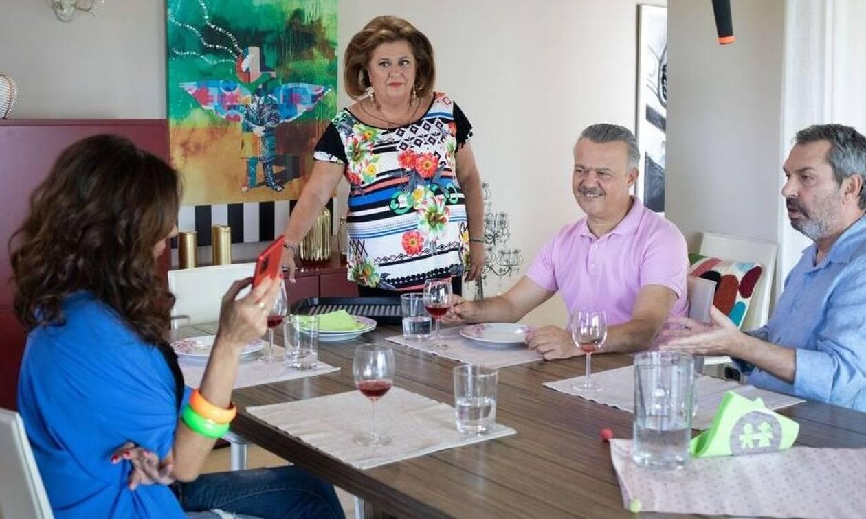 Συμπέθεροι από τα Τίρανα: Χαμός στο Twitter - Ξανά μαζί Μάνθος και Πέγκυ