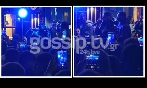 Αποκλειστικό βίντεο: Παραλήρημα στον Βόλο για τον Snik-Εμφανίστηκε για 10' και έγινε το αδιαχώρητο