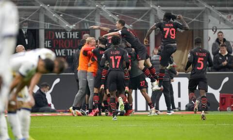 Παλικαρίσια ανατροπή από το 0-2 η Μίλαν - Tα γκολ σε Premier League, Serie A, Bundesliga, LaLiga