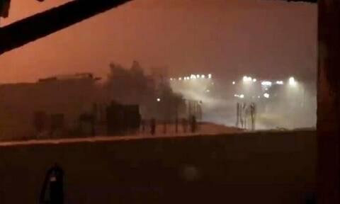 Κακοκαιρία «Μπάλλος»: Απίστευτο φαινόμενο στην Κρήτη - Κόκκινη αστραπή πάνω από το Ηράκλειο