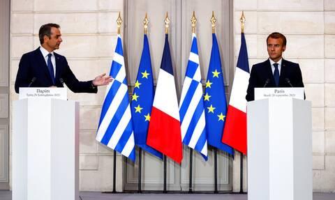 Ελλάδα – Γαλλία: Εκτός συμφωνίας η ΑΟΖ διευκρινίζει το γαλλικό υπουργείο Άμυνας