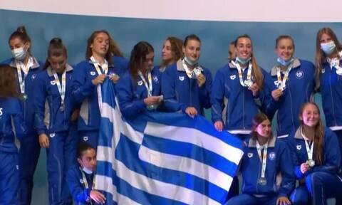 Πόλο: Στη δεύτερη θέση του κόσμου η Ελλάδα! Ασημένια η Εθνική στο Παγκόσμιο Πρωτάθλημα Νέων Γυναικών