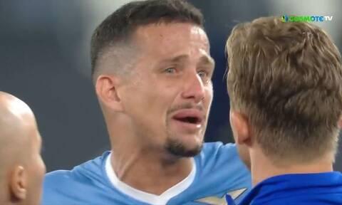 Serie A: Χαμός στο Λάτσιο – Ίντερ! Ξέσπασε σε κλάματα ο Λουίς Φελίπε (videoς)