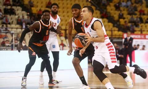 Basket League: Αήττητος με «100άρες» ο Ολυμπιακός, «διπλό» το Λαύριο – Highlights και βαθμολογία