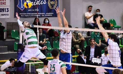 Volley League: Εύκολα ο Παναθηναϊκός, άγγιξε το... τέλειο ο Βαν ντε Ντρις - Τα αποτελέσματα (vids)